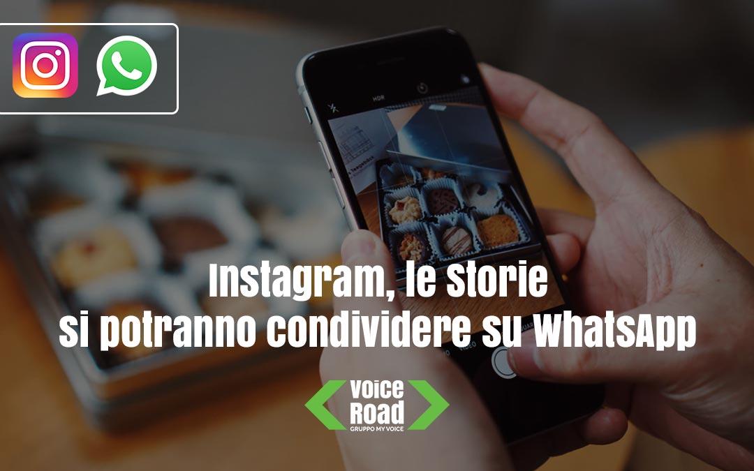 Instagram, le Storie si condivideranno direttamente su WhatsApp